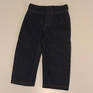 CARTERS   Blue Pull up Jean 18M Unisex